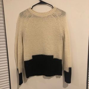 Madewell Colorblock Wool Sweater